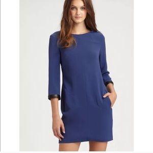 Rag & Bone Harlow Dress. Size 6. Blue & Black